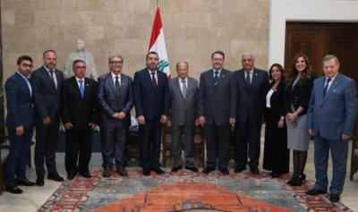 عون: سنعيد لبنان الى الموقع الافضل اقتصادياً في الشرق الاوسط 