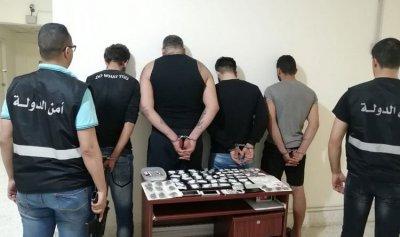 توقيف عصابة ترويج مخدرات في الدكوانة