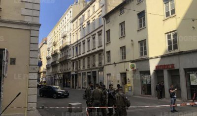 بالفيديو والصور: جرحى بانفجار في ليون الفرنسية