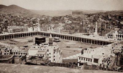 أول صورة لمكة السعودية أُلتقطت قبل 100 عام