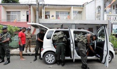 توقيف 100 شخص في سريلانكا