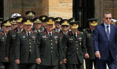 5 جنرالات يحرجون الجيش التركي