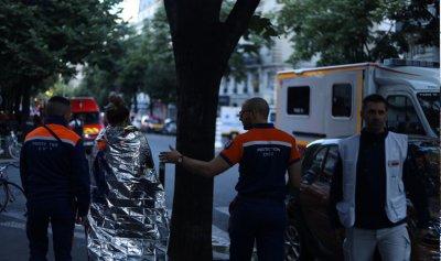 بالصور: قتلى وعشرات الجرحى بحريق كبير في باريس