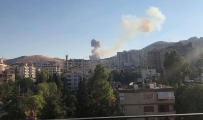 انفجار قوي يهز دمشق