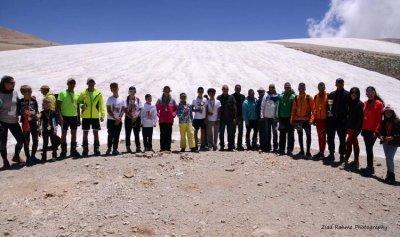 نتائج التزلج الحر على هضبة جبال المكمل ـ بشري