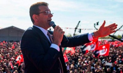 مرشح المعارضة يعلن فوزه في إسطنبول