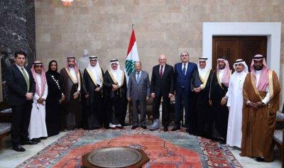عون: مستعدون للمساهمة في التطور القائم في السعودية