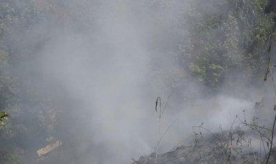 بالصور: حريق في حمانا