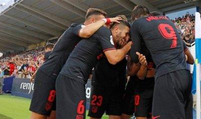 أتلتيكو مدريد يفوز بشق الأنفس