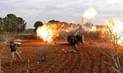 12 قتيلاً بقصف صاروخي على حلب