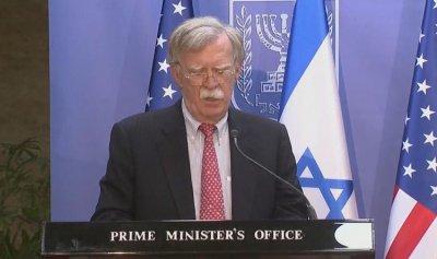 بولتون: إيران تهدد أمن المنطقة وكل الخيارات مطروحة