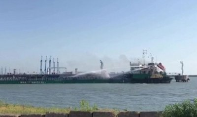 4 قتلى حصيلة ضحايا حريق ناقلة النفط في قزوين