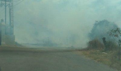 حريق كبير في الكورة
