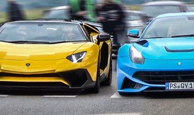 """تصنيع سيارات """"فيراري"""" و""""لامبورغيني""""مقلدة"""