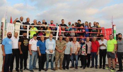 الجيش يحرز بطولة الملاكمة ضمن مهرجان صيدا