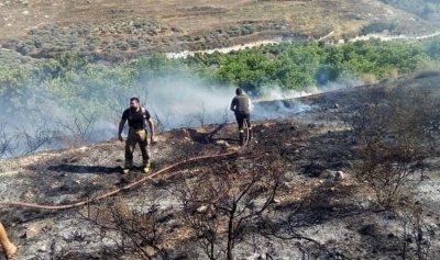 بالصور: حريق في باتوليه