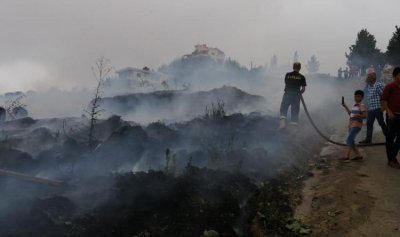 بالصورة: حريق في حرار – عكار