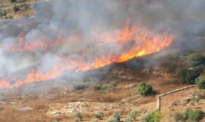 بالصور: حريق حرج في مركبا