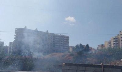 بالصورة: حريق في الحدث