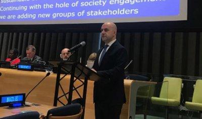 حاصباني من الامم المتحدة: الالتزام بأهداف التنمية المستدامة يستقطب التمويل الدولي للبنان