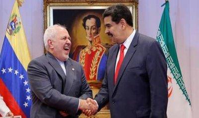 مادورو كاد يكسر يد ظريف