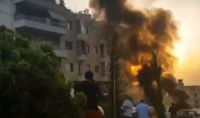بالفيديو: اشكال واطلاق نار بين لبنانيين وسوريين في المنصورية