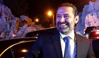 بالفيديو والصور: الحريري يشارك نجل إيلي صعب فرحة زفافه
