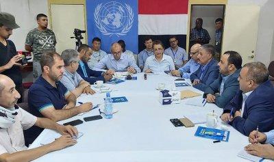 الأطراف اليمنية تتلاقى و تتفق على معايير لوقف النار بالحديدة