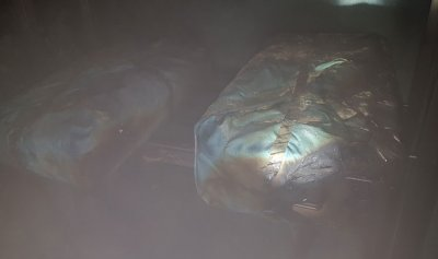 بالصور: حريق داخل مستشفى في سن الفيل