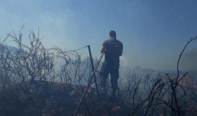 بالصور: حريق في البربارة