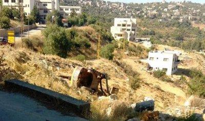 اصابة سائق جرافة اثر انقلابها في حاصبيا