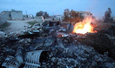 المعارضة تسقط طائرة حربية للنظام في إدلب