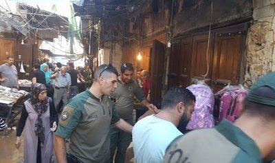 إزالة مخالفات في أسواق طرابلس
