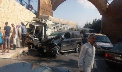 3 جرحى بحادث سير في شمسطار
