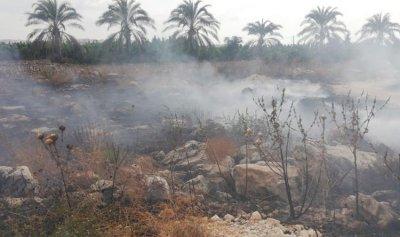بالصور: حريق في الرميلة