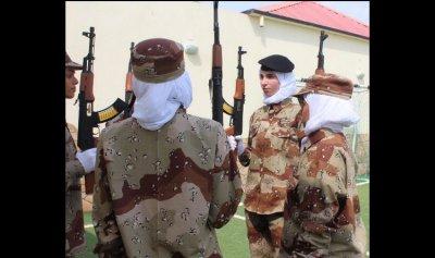 بالصور: للمرة الأولى عرض عسكري نسائي في السعودية