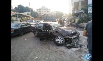 بالصورة: جريحان إثر حادث سير في سهيلة