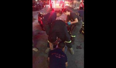 بالصورة: جريحان إثر حادث سير في جونية