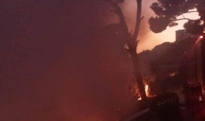 إخماد حريق في برمانا