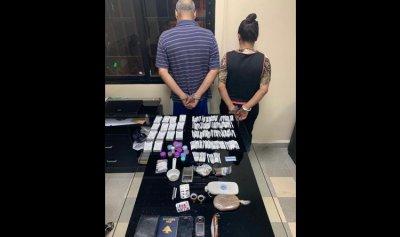 بالصور: ضبط مروجي مخدرات في حرش تابت