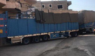 بالصور: ضبط شحنة بضائع تزن 16 طناً وتوقيف شخصين