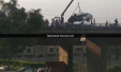 بالفيديو: مقتل امرأتين بحادث سير في الكورة