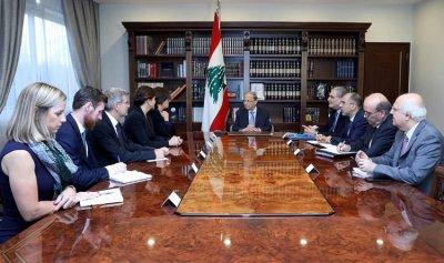 لقاءات دبلوماسية لعون