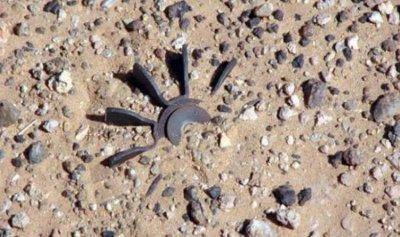 انفجار لغم ارضي بحفارة إسرائيلية في المحافر