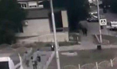 """بالفيديو: لحظات دراماتيكية توثق قتل """"داعشي روسي"""""""