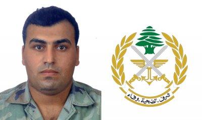 جثمان الشهيد عثمان الشديد يصل الى عكار