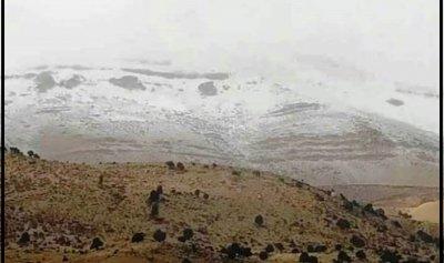 الثلوج غطّت قمم جرد مربين في الضنية