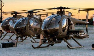 مروحيات هجومية أميركية طراز MD 530 G قريباً للجيش اللبناني