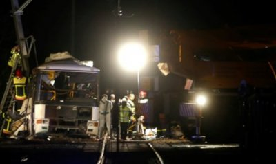 مقتل أربعة تلامذة وإصابة عشرين في حادث تصادم بين قطار وحافلة جنوب فرنسا