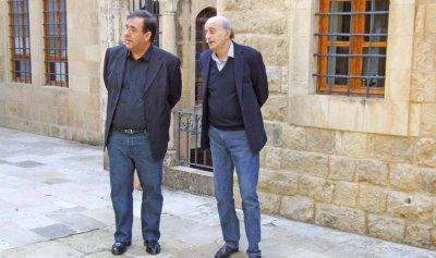 جنبلاط التقى السفير الفرنسي في المختارة